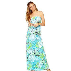 Lilly Pulitzer | Marlisa Strapless Maxi Dress XS